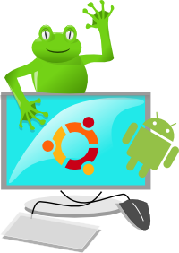 The Computing Froggy Logo